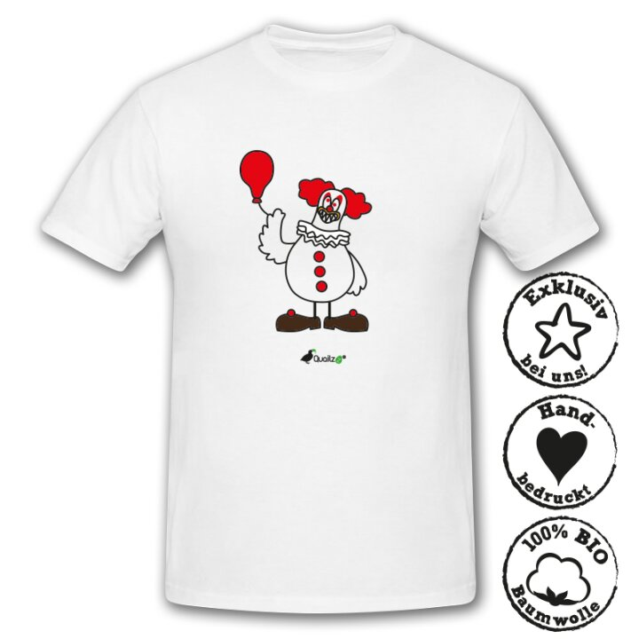 Quailzz® BIO Shirt Clown - Men