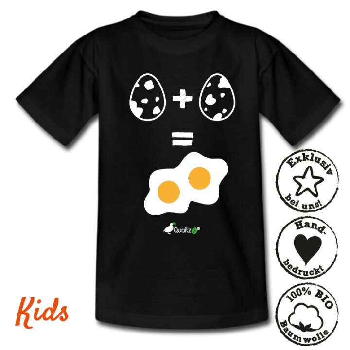 Quailzz® BIO Shirt 1+1 - Kids