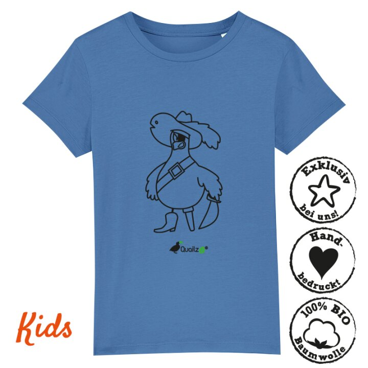 Quailzz® BIO Shirt Pirate - Kids
