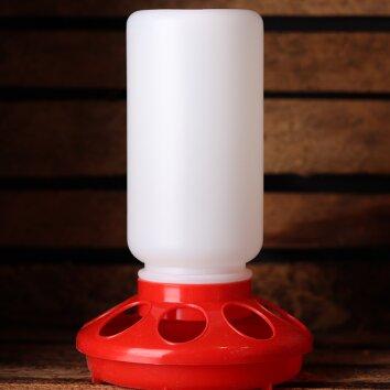 Lochfutterautomat 1kg - red | Quailzz®