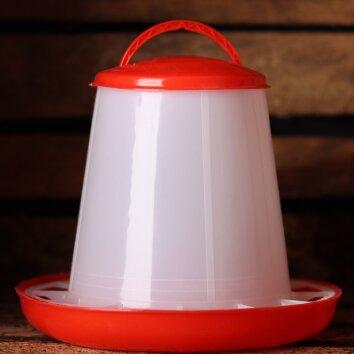 Wachtel Futterautomat 1kg - red | Quailzz®