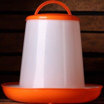 Wachtel Futterautomat 1kg - orange | Quailzz®