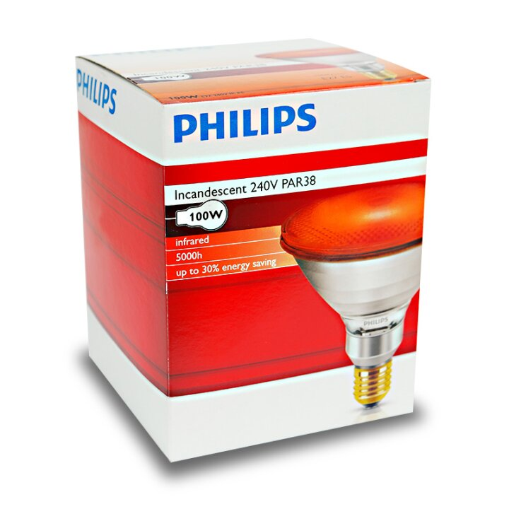 Philips Wärmelampe 100 Watt