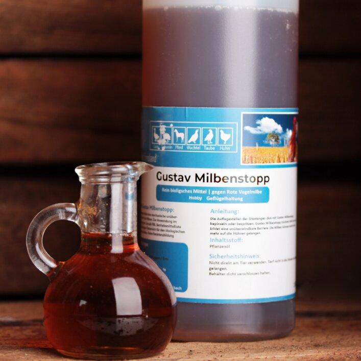 Milbenstopp Milben Milbenabwehr Parasiten Bekämpfung Öl natürlich
