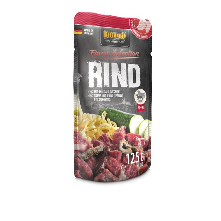 Rind mit Spätzle & Zucchini 12x125g   Belcando Finest Selection