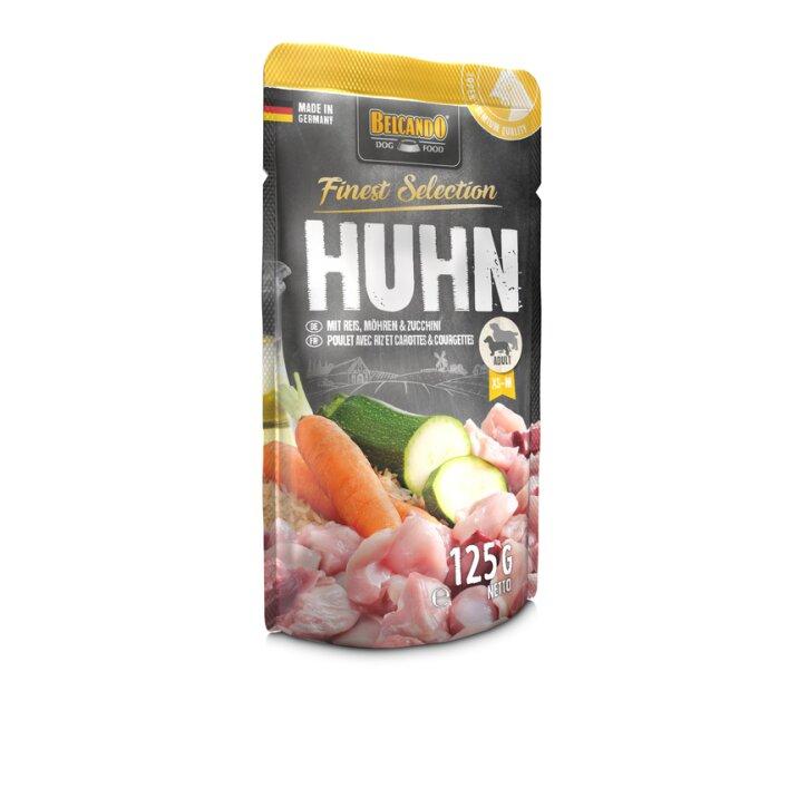 Huhn mit Reis, Möhren & Zucchini 12x125g   Belcando Finest Selection