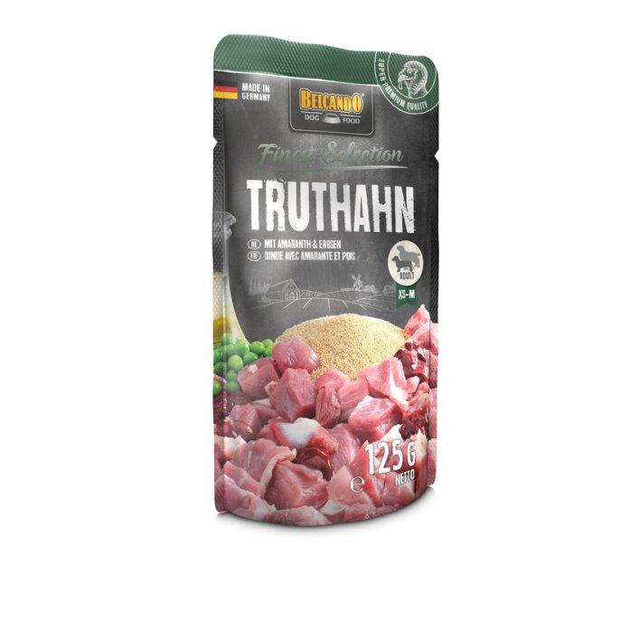 Truthahn mit Amaranth & Erbsen 12x125g | Belcando Finest Selection