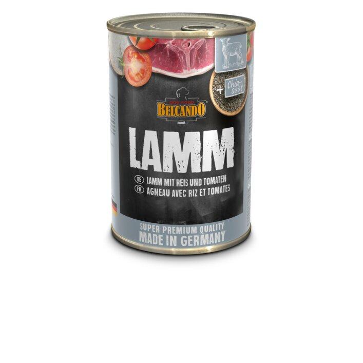 Lamm mit Reis & Tomaten 6x400g   Belcando Super Premium