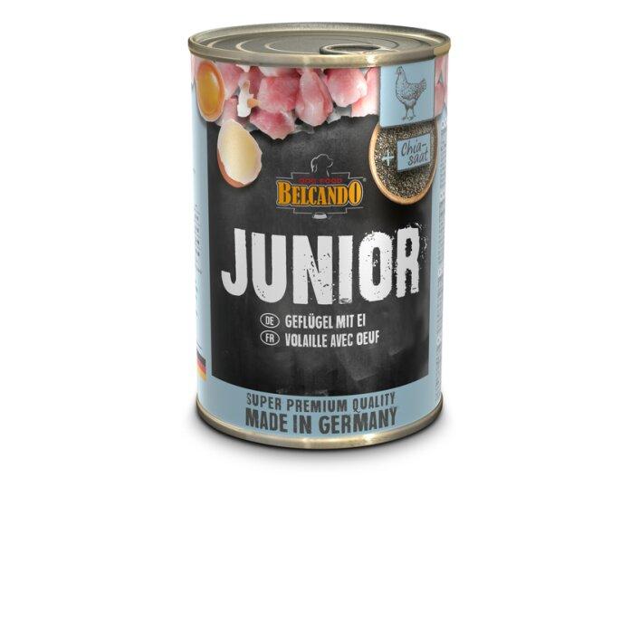 Junior Geflügel & Ei 6x400g   Belcando Super Premium
