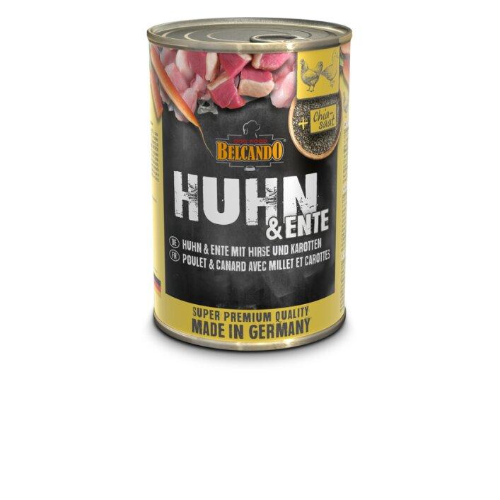 Huhn & Ente mit Hirse & Karotten 6x400g   Belcando Super Premium