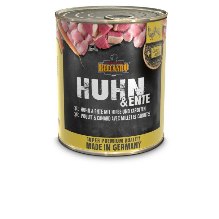 Huhn & Ente mit Hirse & Karotten 6x800g | Belcando Super Premium