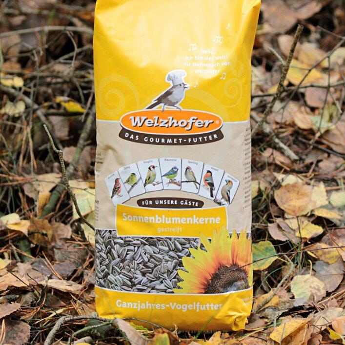 Wildvogel Sonnenblumenkerne gestreift 10kg