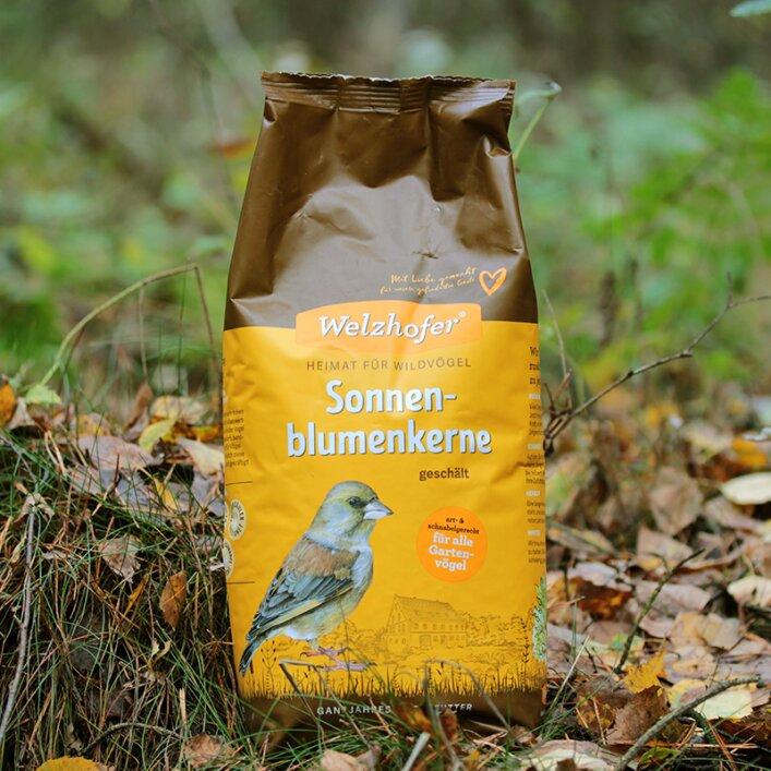 Wildvogel Sonnenblumenkerne geschält 2kg
