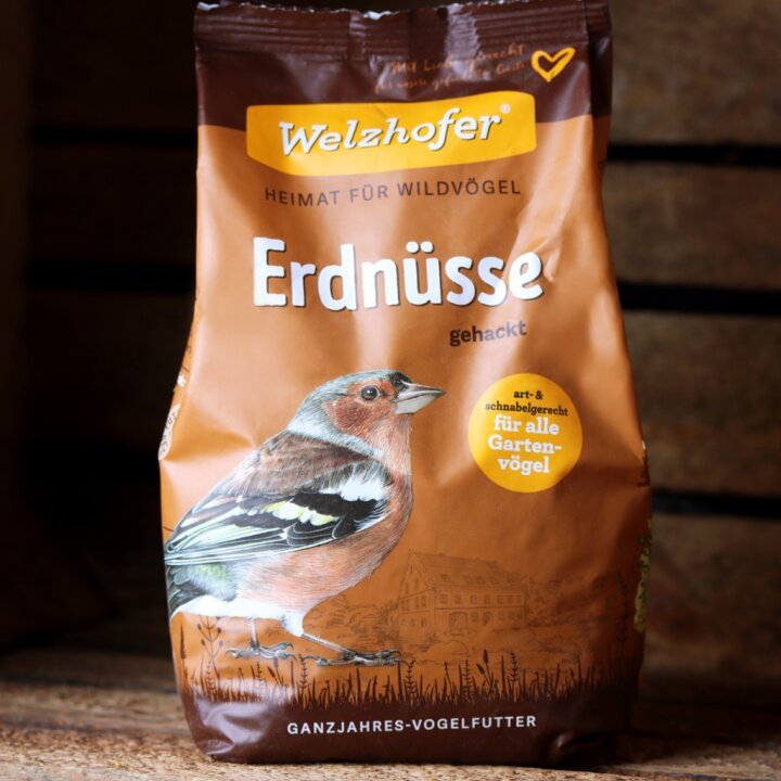 Wildvogel Erdnüsse gehackt 1kg