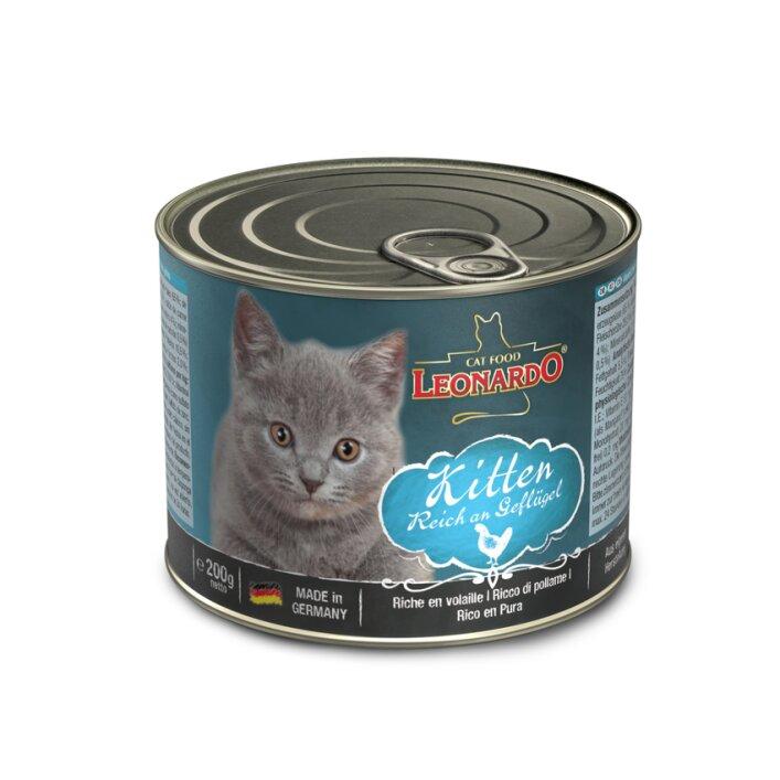 Kitten 6x200g   Leonardo Quality Selection