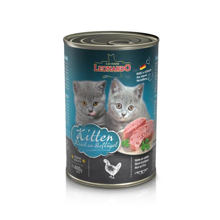 Kitten 6x400g | Leonardo Quality Selection