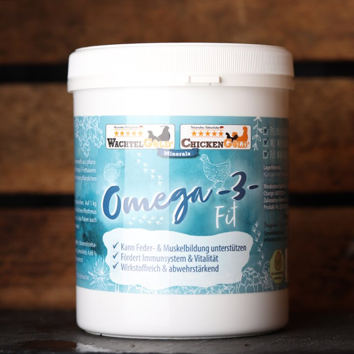 WachtelGold® Omega-3-Fit 500g