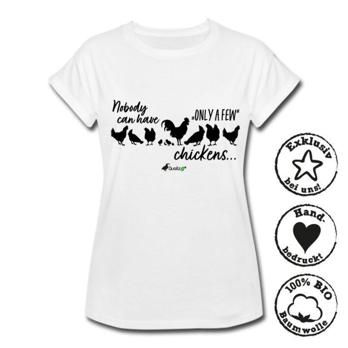 """Quailzz® BIO Shirt """"Only a few"""" - Women"""