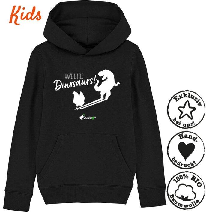 "Quailzz® BIO Hoodie ""Dinosaurs"" - Kids"