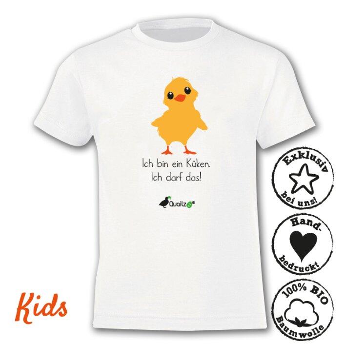 "Quailzz® BIO Shirt ""Küken"" - Kids"