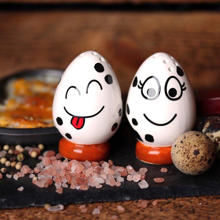 Wachteleierbecher Eierbecher Frühstück Geschirr Wachteleier