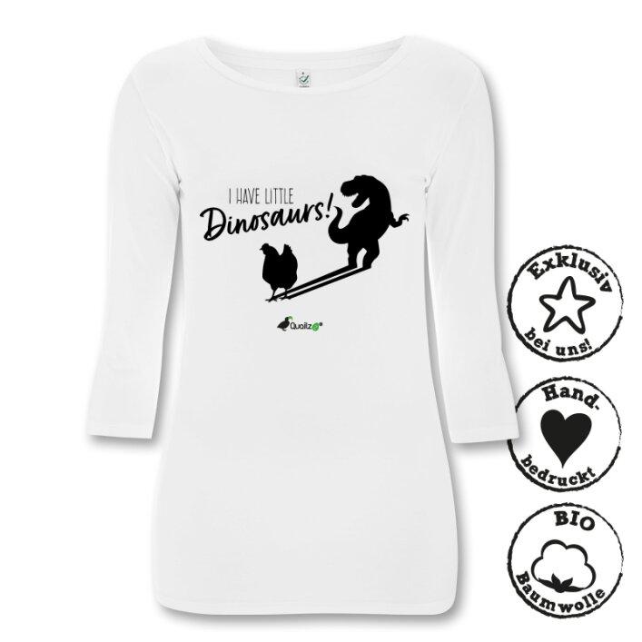 "Quailzz® BIO Longsleeve ""Dinosaurs"" - Women"