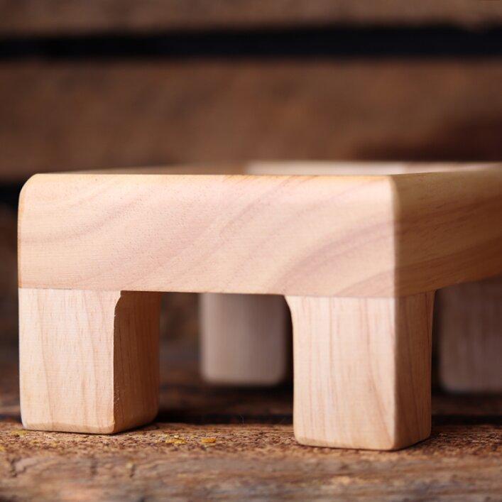 Holzhalter für Grit- und Picksteine   WachtelGold®
