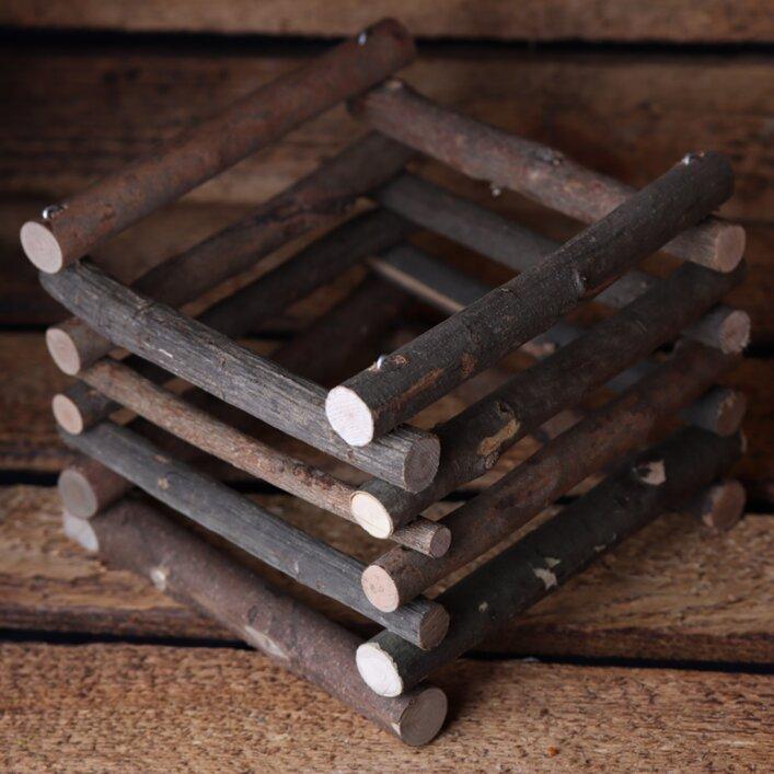 Futterraufe Holz
